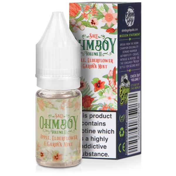Apple, Elderflower & Garden Mint- 10ml Nic Salt