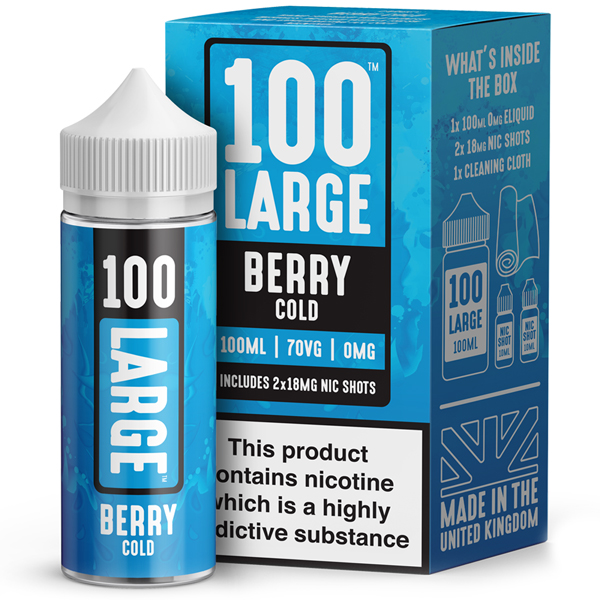 100 Large – Berry Cold 100ml