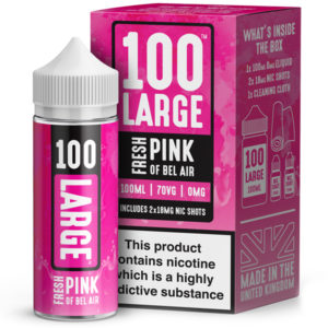 100 Large – Fresh Pink Of Bell Air 100ml