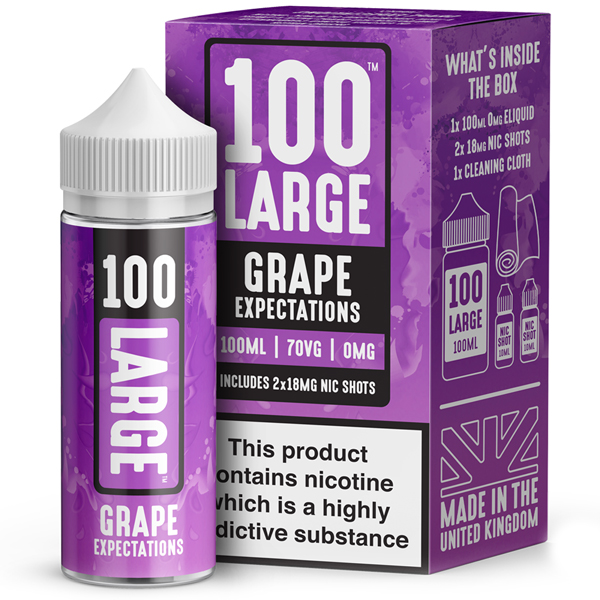 100 Large – Grape Expectations 100ml