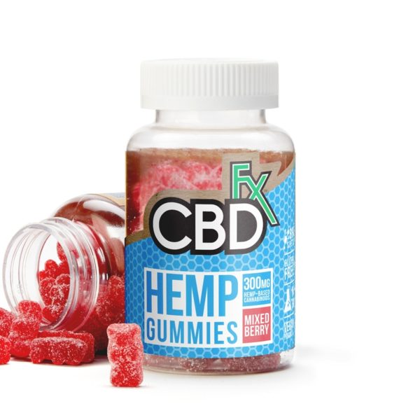 CBDfx Gummy Bears (Jar of 60 Pcs)