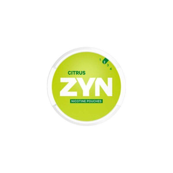 ZYN Nicotine Pouches – Citrus