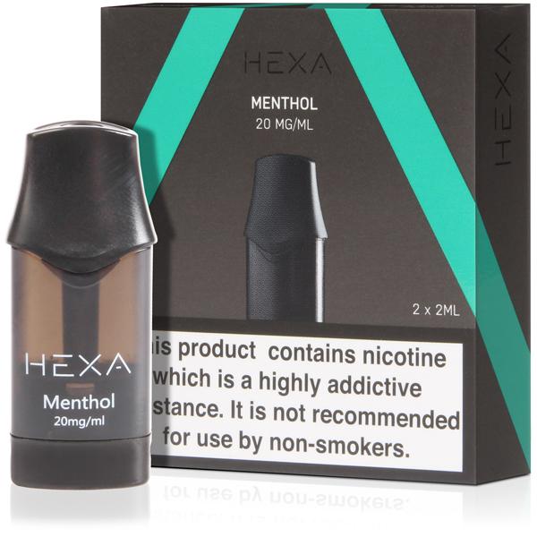 Hexa V1 Pod – Menthol 20mg