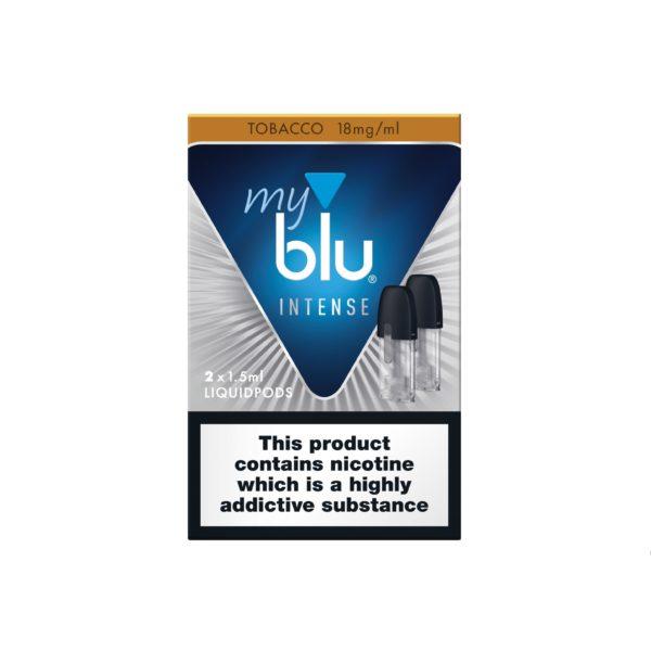MyBlu Liquidpod Intense – Tobacco Mint Nic Salt