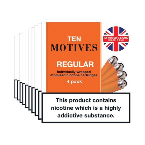 Ten Motives – Regular Cartridges X 4
