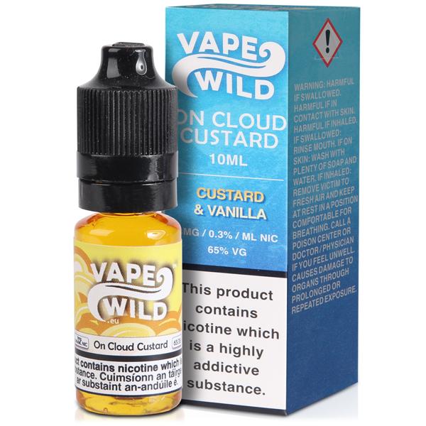 Vape Wild – On Cloud Custard 10ml 0mg