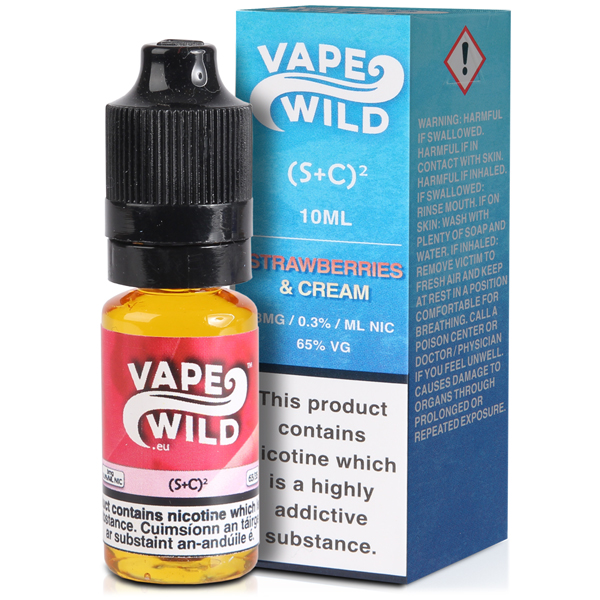 Vape Wild – (S+C)2 10ml 0mg
