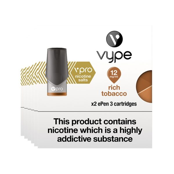 Vype ePen vPro Pods X 2 – Rich Tobacco