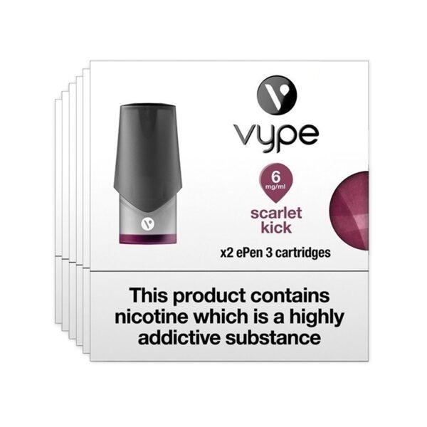 Vype ePen Pods X 2 – Scarlet Kick