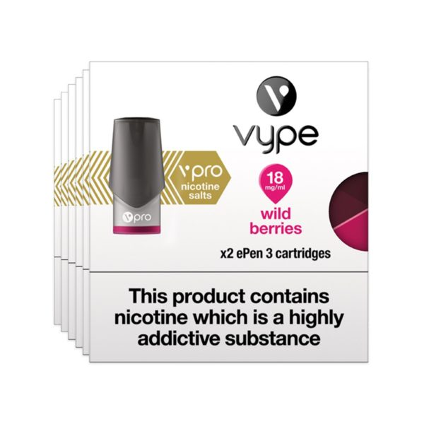 Vype ePen vPro Pods X 2 – Wild Berries
