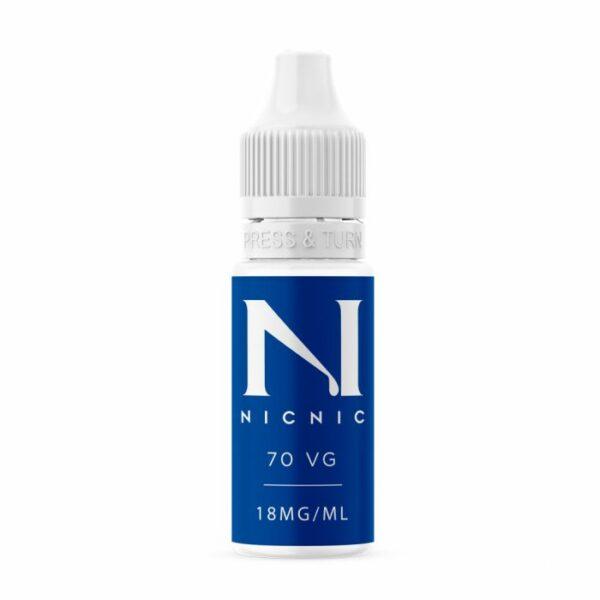 Nic Nic Nicotine Shot 70% VG 10ml