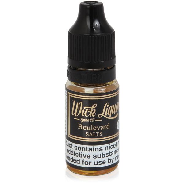 Wick Liquor – Boulevard Nic Salt 10ml