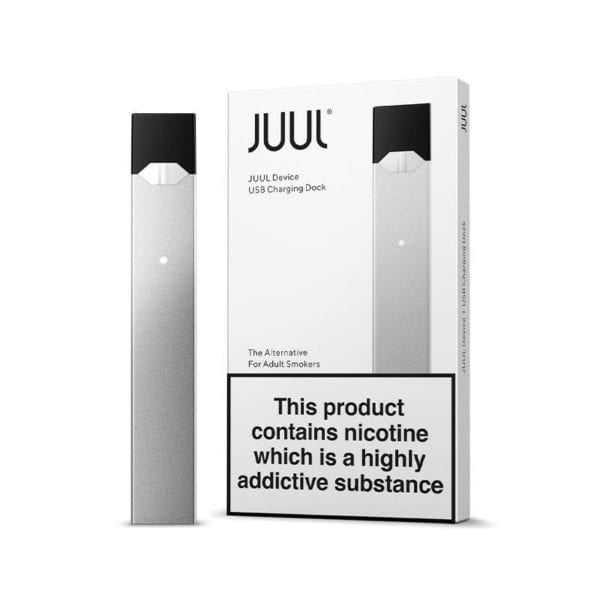 JUUL Starter Kit Silver