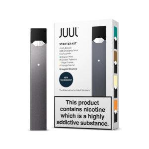 JUUL Starter Kit W/ 4 Pods