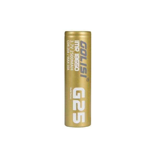 Golisi G25 18650 Battery - 2500mAh