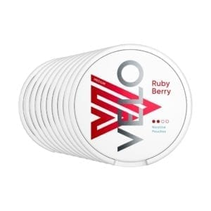 Velo Nicotine Pouches - Ruby Berry