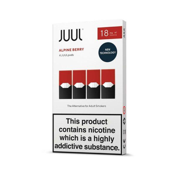 JUUL Pods (Box of 4) - Alpine Berry