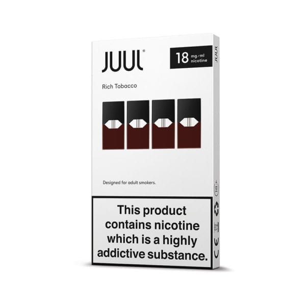 JUUL Pods (Box of 4) - Rich Tobacco