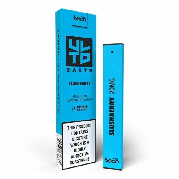 Puff Bar Disposable Device - ULTD Salts - Slushberry 20mg