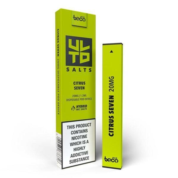 Puff Bar Disposable Device - ULTD Salts - Citrus Seven 20mg