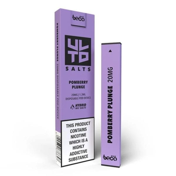 Puff Bar Disposable Device - ULTD Salts - Pomberry Plunge 20mg