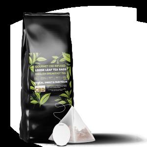 Equilibrium CBD Infused Tea Bags (12 Pieces) - English Breakfast Tea