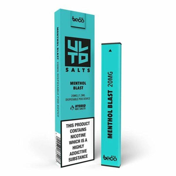 Puff Bar Disposable Device - ULTD Salts - Menthol Blast 20mg