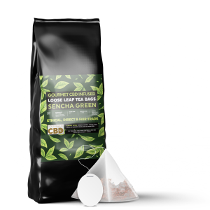 Equilibrium CBD Infused Tea Bags (12 Pieces) - Sencha Green Tea