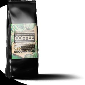 Equilibrium CBD Infused Coffee - Ground Bean 100g (100mg CBD)