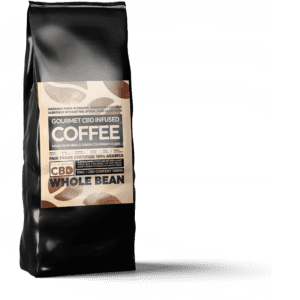 Equilibrium CBD Infused Coffee - Whole Bean 100g (100mg CBD)