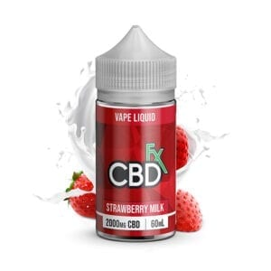 CBDfx Vape Series - Strawberry Milk 60ml