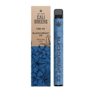 Cali Greens CBD Go Vape Pen 150mg - Blackcurrant Ice