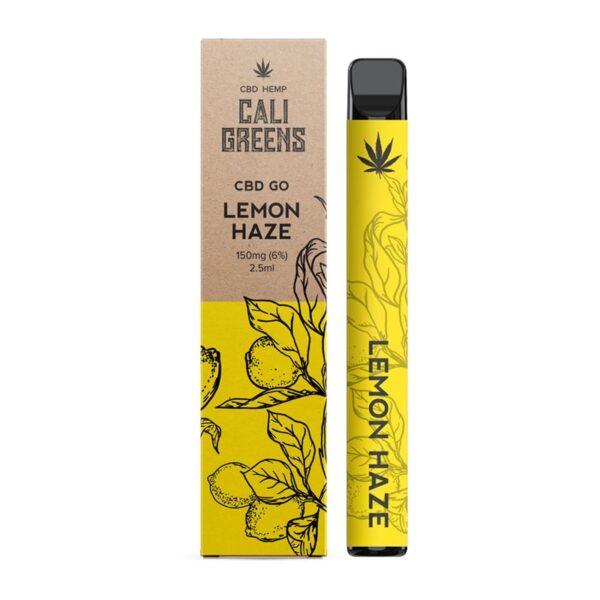 Cali Greens CBD Go Vape Pen 150mg - Lemon Haze