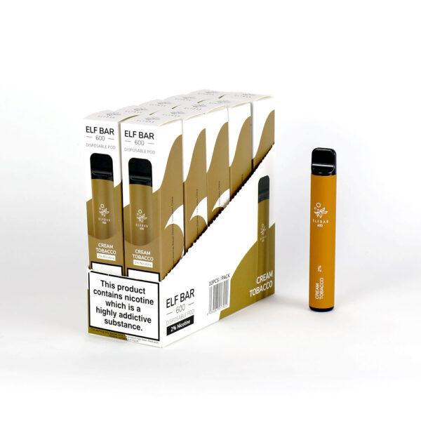 Elf Bar Disposable Vape - Cream Tobacco