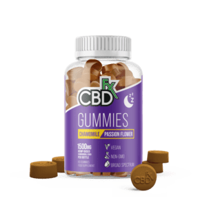 CBDfx Gummy Bears - For Sleep W/ Chamomile Passion Flower (Jar of 60 Pcs)