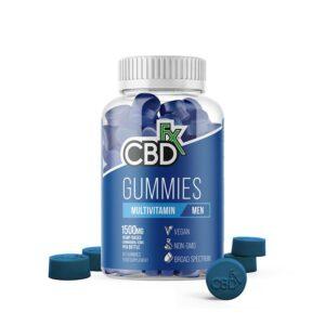 CBDfx Gummy Bears - Menn's Multivitamin (Jar of 60 Pcs)