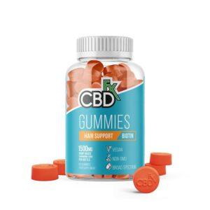 CBDfx Gummy Bears - W/ Biotin For Hair Support(Jar of 60 Pcs)