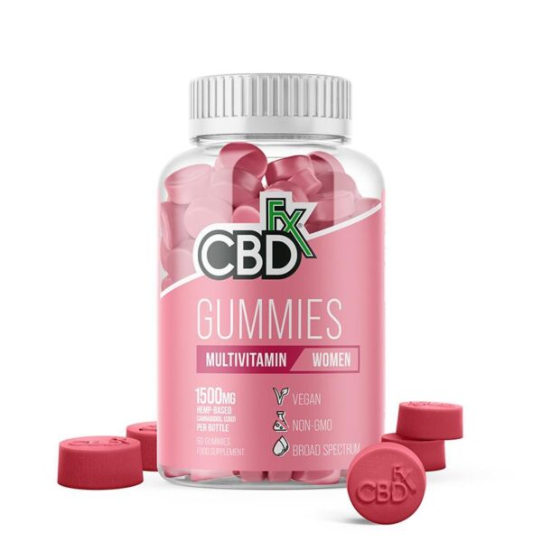 CBDfx Gummy Bears - Woman's Multivitamin (Jar of 60 Pcs)