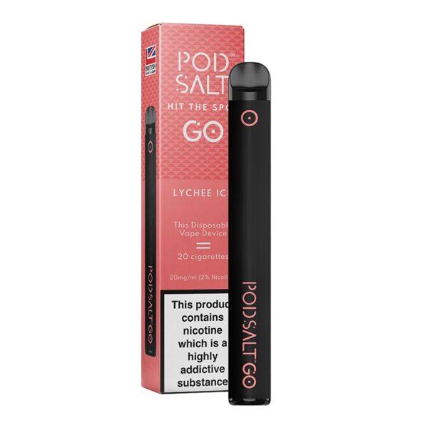 Pod Salt Go Disposable - Lychee Ice