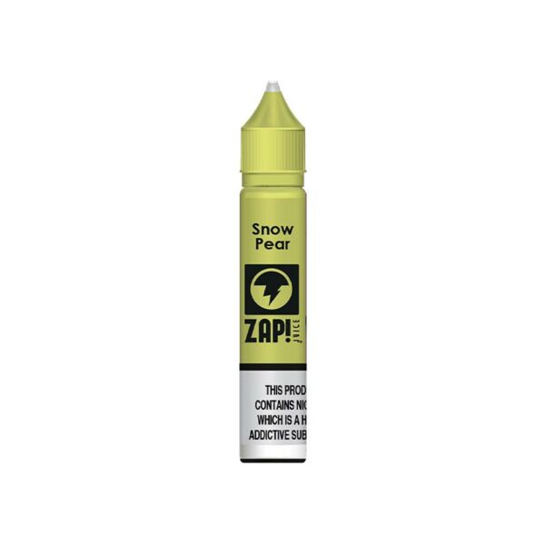 Zap! Juice Nic Salt - Snow Pear